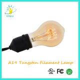Stoele A19 25W 텅스텐 필라멘트 램프 E26/E27 기본적인 전구