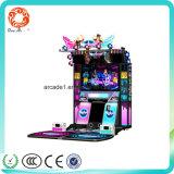 De hete Muntstuk In werking gestelde Machine van de Simulator van de Muziek van de Arcade Saling Dansende
