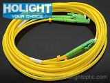 E2000 APCデュプレックスSmの黄色い光ファイバパッチ・コードへのLC APC