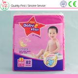 Fabricantes disponibles soñolientos del pañal del bebé del bebé L72 del algodón orgánico dulce de la estrella en China