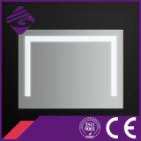 [نول-دسند] زخرفيّة مربّعة فضة غرفة حمّام جدار مرآة مع [لد] ضوء