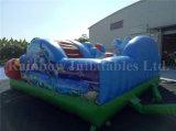 Спортивная площадка напольного парка океана оборудования раздувная для малышей
