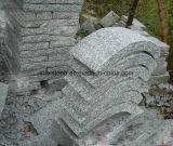 옥외를 위한 자연적인 화강암 또는 현무암 또는 넘어진 자갈 또는 입방체 또는 입방 포석/포장 기계 돌