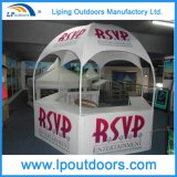 Kiosque en acier de dôme d'activités promotionnelles extérieures annonçant la cabine