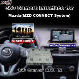 Surface adjacente de vue arrière et de panorama 360 pour Mazda 2 3 6 Cx-3 Cx4 Cx-5 Cx-9 Mx-5 avec l'écran de moulage d'entrée de signal de système Lvds RVB de Mzd