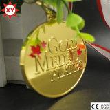 La médaille de cuivre de natation de moulage mécanique sous pression avec le logo gravé (XY100607)