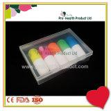 Mini 5 dans 1 jeu coloré multi de crayon lecteur de barre de mise en valeur