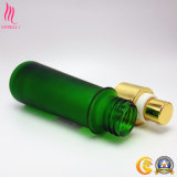 Bouteille en verre d'olive verte d'huile de jet vide de brouillard de Chine