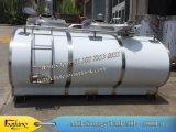 refrigerador de refrigeración 5t de la leche del refrigerador de la leche del tanque de la leche horizontal 5000L con el compresor 12HP