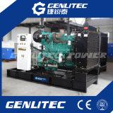 Poder Genlitec! Guardar combustible 312kVA / 250 kW Cummins silencioso generador diesel