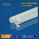 Tube de SMD2835 1200mm 18W 150lm/W T8 DEL pour le parking