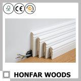 Design moderno para revestimento de madeira de decoração de madeira