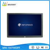 """인조 인간 3G 4G WiFi 무선 LCD 15 인치 디지털 사진 프레임 전시 """"4: 3"""" HDMI"""