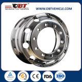 Obtの高品質のトレーラトラック車の合金の車輪の縁24.5