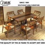 Tabella pranzante lunga di legno dell'Asia Sud-Orientale per mobilia domestica CH633