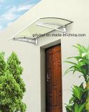 Укрытия сени здания DIY тент алюминиевого напольный для предохранения от дождя дверей Windows