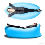 Софа воздуха ленивая, складывая одиночная кровать софы, раздувной одиночный воздушный матрас для сбывания