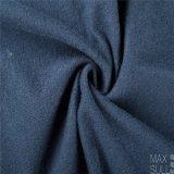 Tessuto blu scuro cotone/delle lane