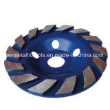 화강암 갈기를 위한 다이아몬드 컵 바퀴 가는 공구