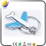 Самолета металла сувенира цепь выдвиженческого ключевая