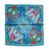La manera barata de la impresión de Tranfer del calor crea el Bandana cuadrado del poliester para requisitos particulares