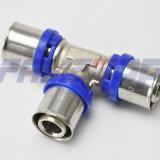 Guarnición de cobre amarillo de la prensa para el tubo de múltiples capas con el certificado de la ISO del Ce
