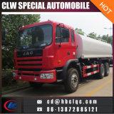 좋은 품질 JAC 6X4 18m3 20m3 거리 물 탱크 트럭 물 탱크 살포 트럭
