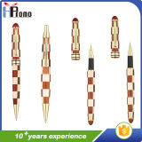 Handmade clip de madera de bolígrafo