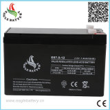 Cechinese Battery Manufacture 12V 7ah Maintenance Free Sealed Lead Acid Battery für UPS und Solar Power Supply