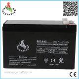 Bateria acidificada ao chumbo selada livre da manutenção da manufatura 12V 7ah da bateria de Cechinese para o UPS e a fonte de alimentação solar