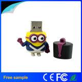 Azionamento dell'istantaneo del USB dei servi del fumetto del silicone del regalo 8GB di promozione