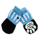Cute Anti-Skid Paws Rubber Printing Tricot Pet Socks