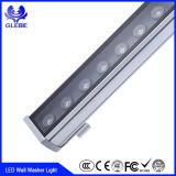luz ao ar livre das arruelas da parede do diodo emissor de luz de 1m 12W 18W 24W 36W