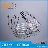 Het lichtgewicht Randloze Optische Frame van het Titanium met Scharnier (8510-C4)