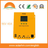 96V40A黒いカラーLCD表示の太陽料金のコントローラ