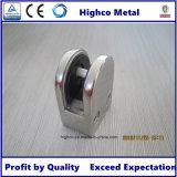Abrazadera de cristal del acero inoxidable para el pasamano de cristal con el poste redondo
