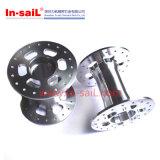 CNC do aço inoxidável girado & metal fazendo à máquina que processa componentes da maquinaria