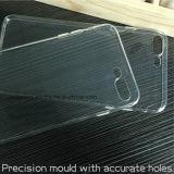 O espaço livre ultra fino da alta qualidade altamente cobriu completamente a caixa macia do telefone de pilha de TPU para o iPhone 7 positivo