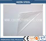 Rodillo de acero revestido del color blanco puro