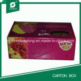 Boîte en carton mobile ridée par noir chaud de vente