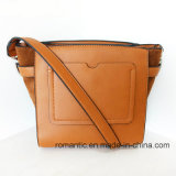 China-Lieferanten-Entwerfer Fishon Frauen PU-Veloursleder-Handtaschen (NMDK-042803)