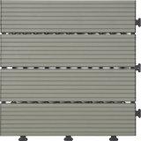 Azulejo de suelo de aluminio al por mayor del Decking del material de construcción WPC
