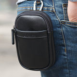 Portable PU Leather Key Case for Men′ S Key Wallet (7702)