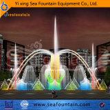 Fuente decorativa ligera urbana de la construcción LED del diseño de Seafountain
