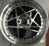 A qualidade de F70571 Sainbo altamente roda bordas da roda da liga do carro do mercado de acessórios