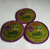 Divisa tejida ropa redonda púrpura de Overlocking