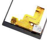 Экран LCD клетки для цифрователя Asse экрана касания T3 M50W Сони Xperia