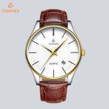 Reloj de gama alta del cuarzo del acero inoxidable para los hombres con la caja 72243 de la aleación