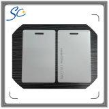 Пластичная карточка удостоверения личности ключевой карточки с пробивая отверстием