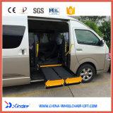 Elevador del sillón de ruedas de la movilidad para Van y el microbús con la capacidad de cargamento 350kg